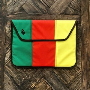 Timbuk2 Yellow Red & Green Portfolio Men's/Women's